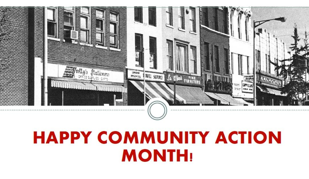 Happy Community Action Month!