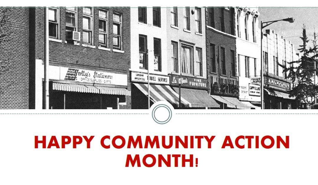 Happy Community Action Month!